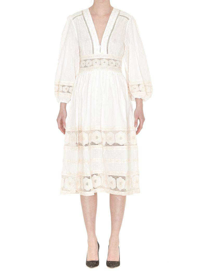 Zimmermann Dress In Ivory