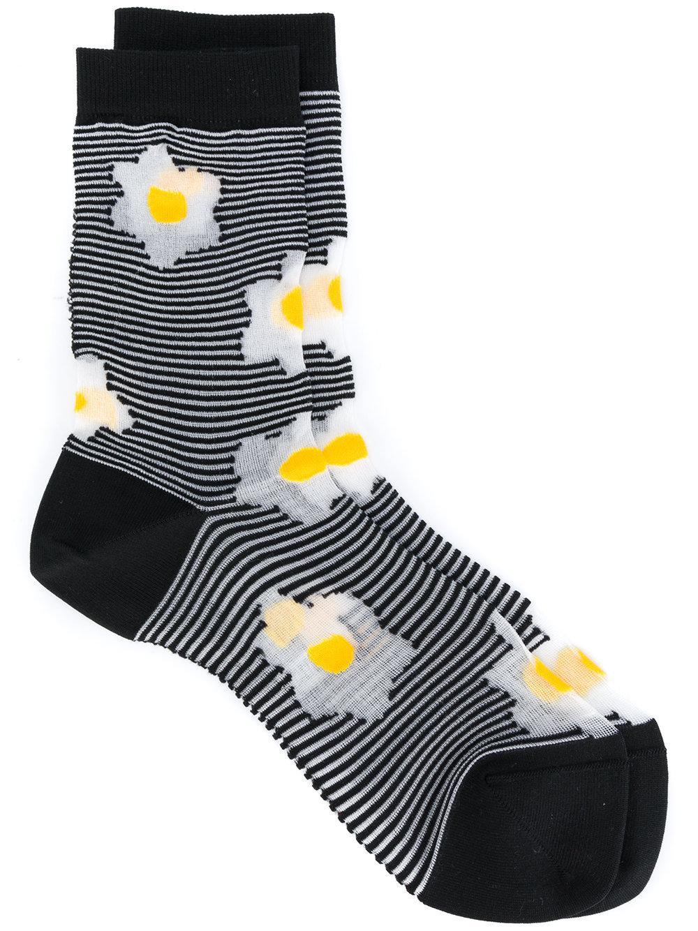 Henrik Vibskov Flora Striped Socks