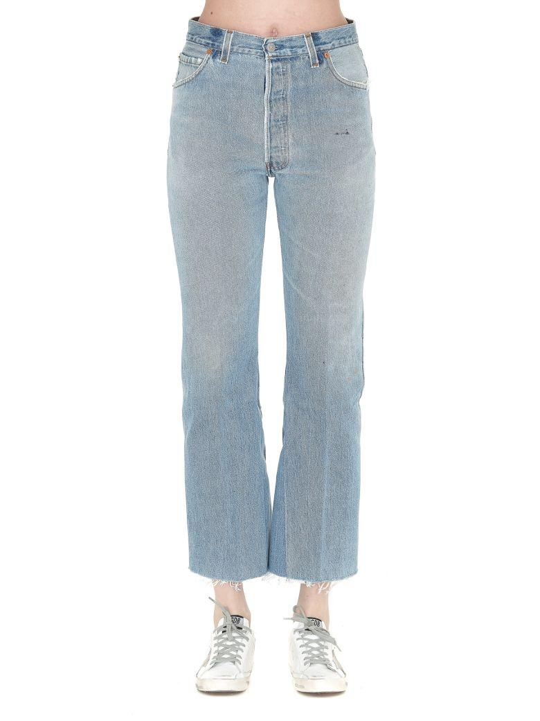 Re/done Re-done Jeans In Indigo