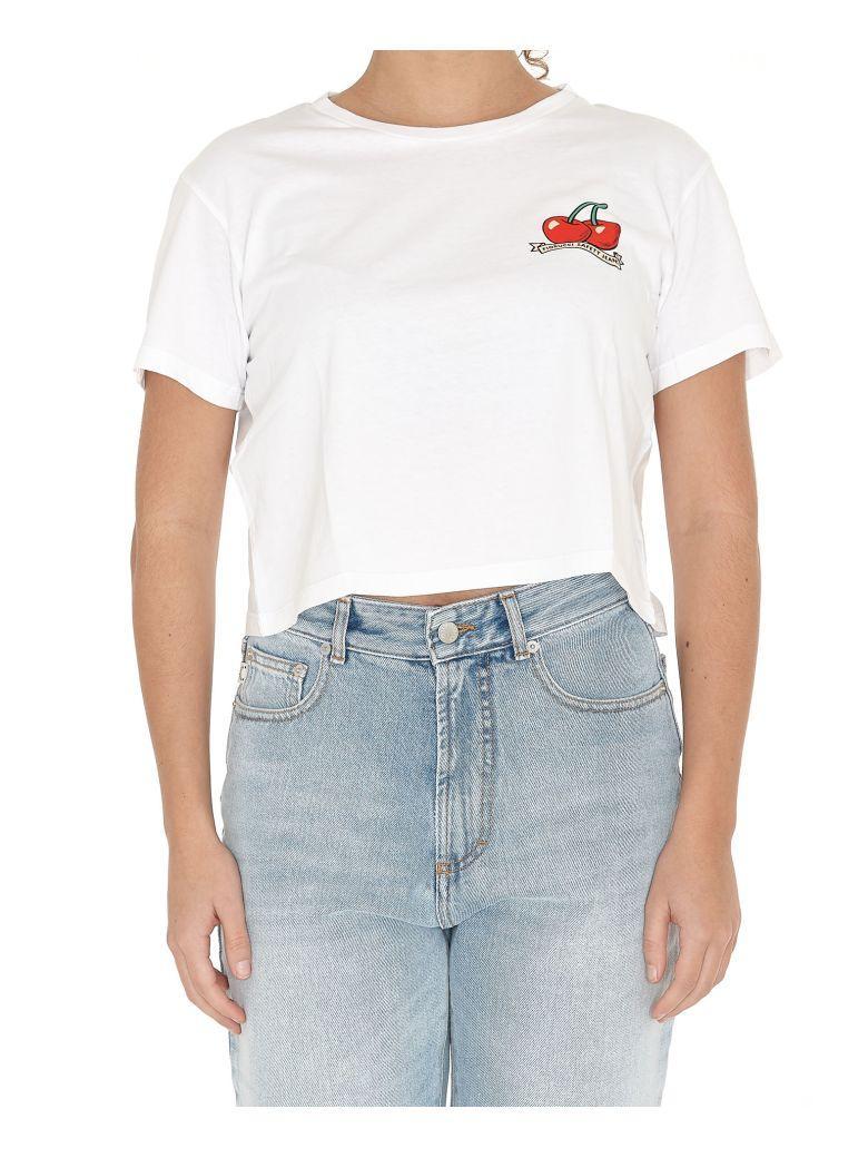 Fiorucci Vintage Cherries Tshirt In White