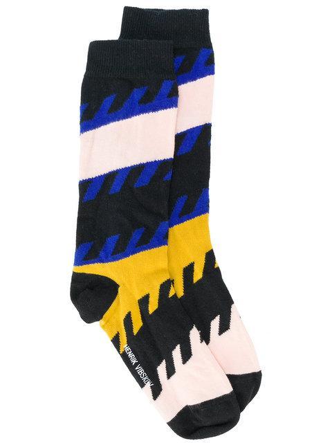 Henrik Vibskov Snore Socks - Multicolour