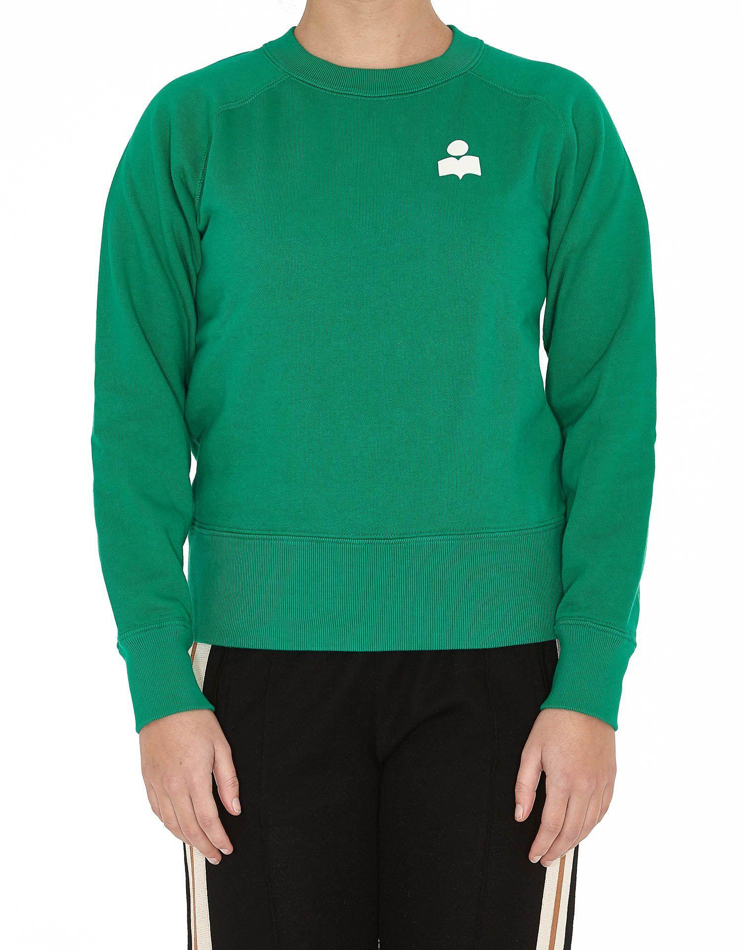Etoile Isabel Marant Makati Sweatshirt In Green