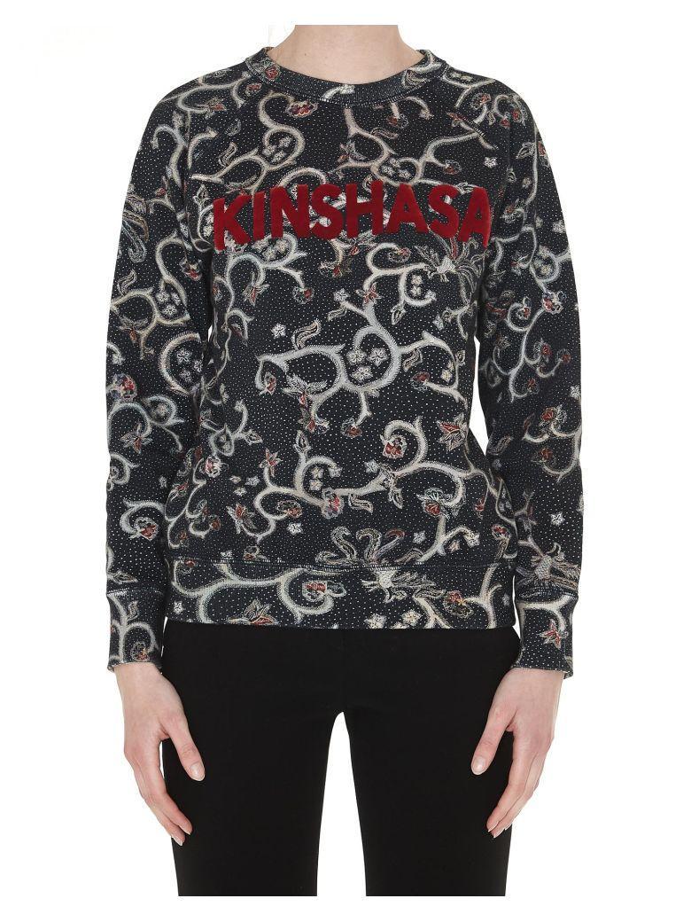 Etoile Isabel Marant Xodilon Sweatshirt In Faded Black