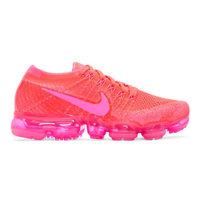 Nike Pink Air Vapormax Flyknit Sneakers