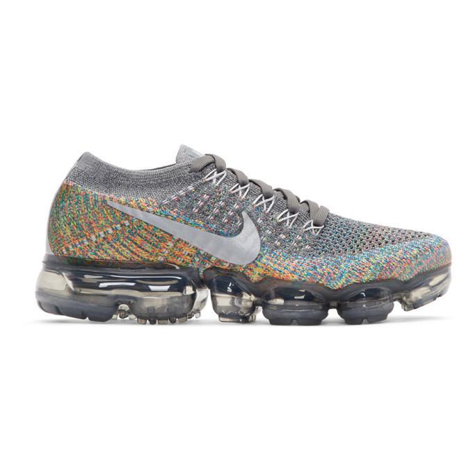 Nike Grey Air Vapormax Sneakers In 019 Darkgre