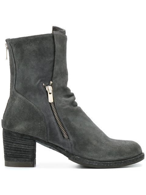 Officine Creative Varda Boots In Grey