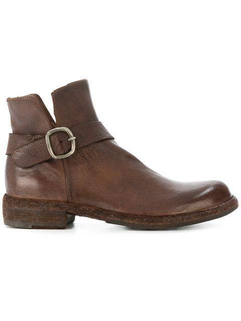 Officine Creative Legrand Boots In Brown
