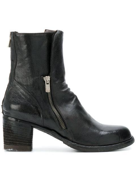 Officine Creative Varda Boots In Black
