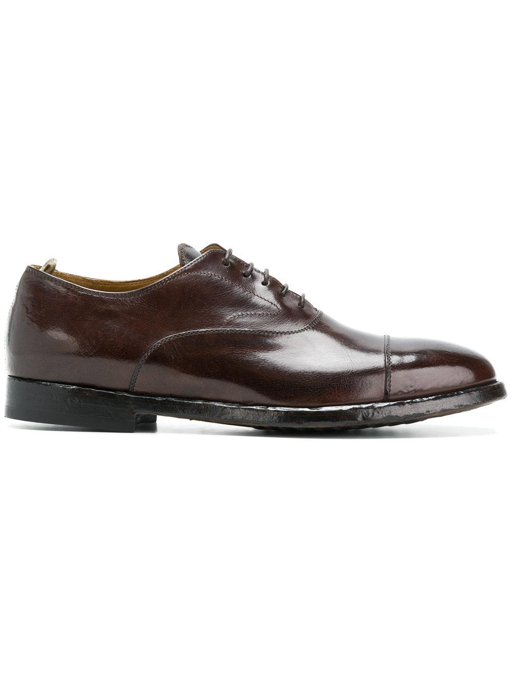 Officine Creative Herve Lace-up Shoes - Brown