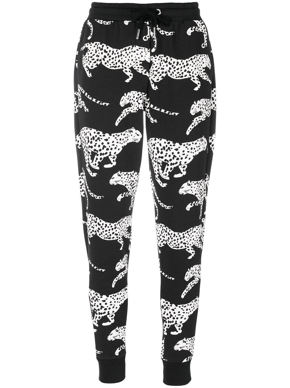Zoe Karssen Leopard Print Joggers
