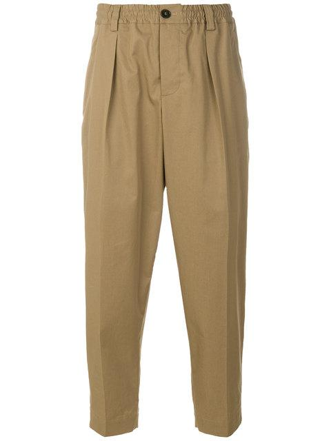 Marni Tapered Trousers - Neutrals