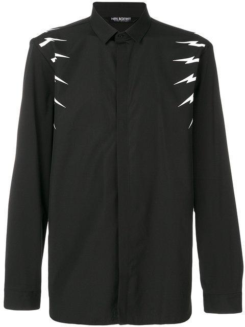 Neil Barrett Lightning Bolt Shirt