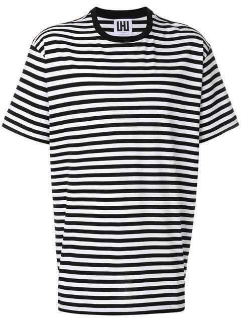 Les Hommes Striped T