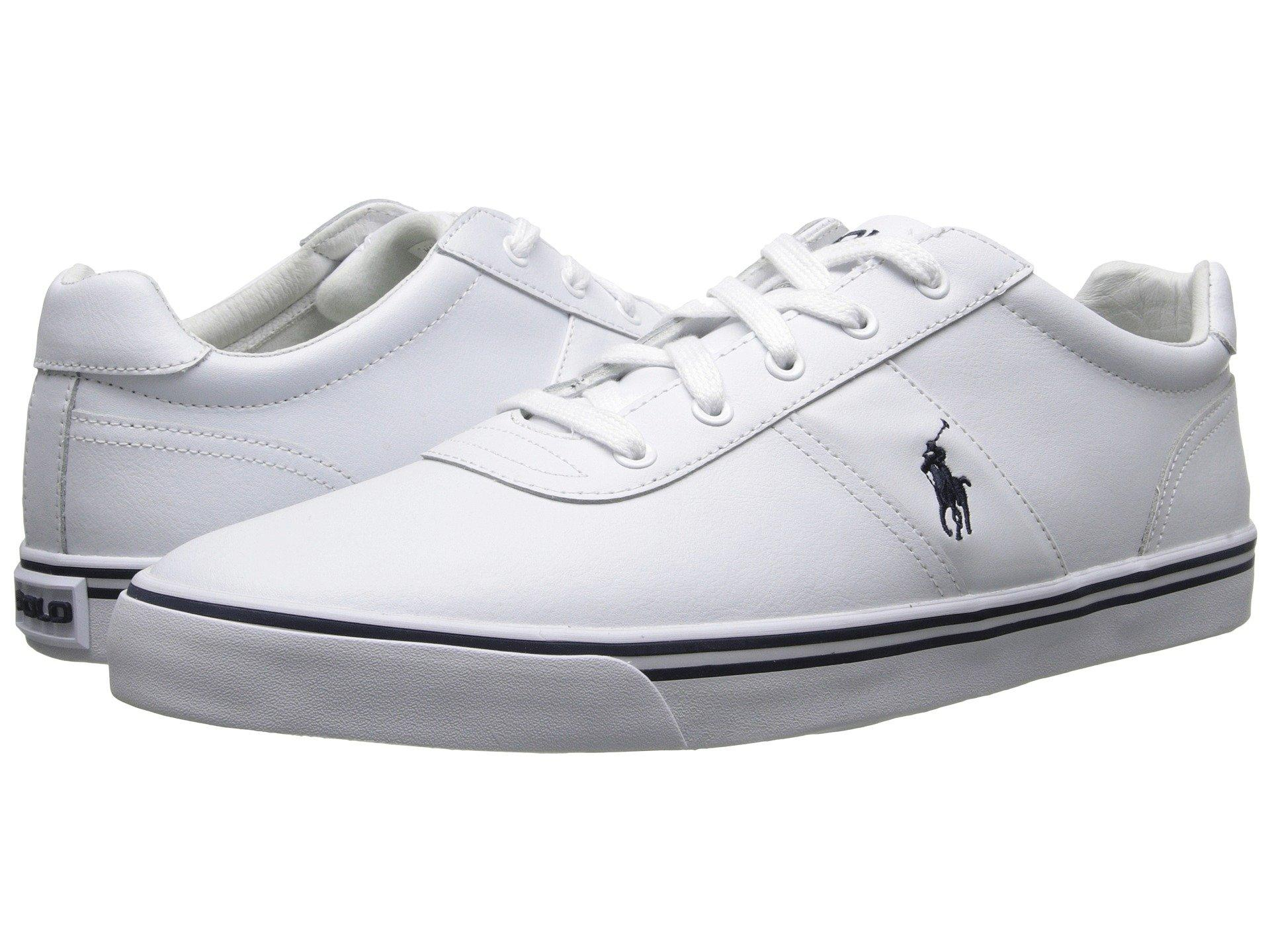 Polo Ralph Lauren Hanford Leather In White Leather