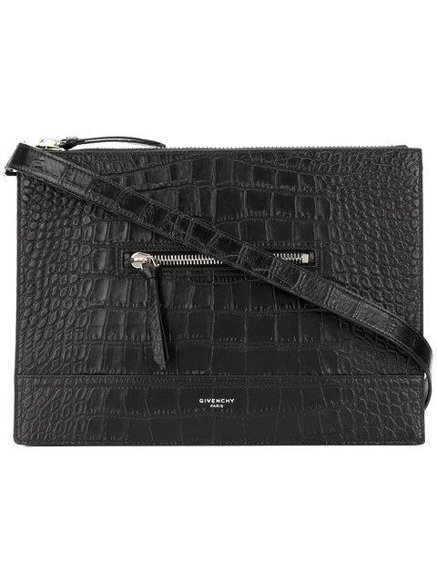Givenchy Embossed Messenger Bag