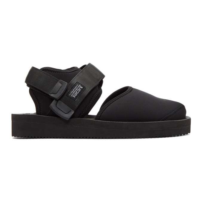 Suicoke Black Bita-v Sandals