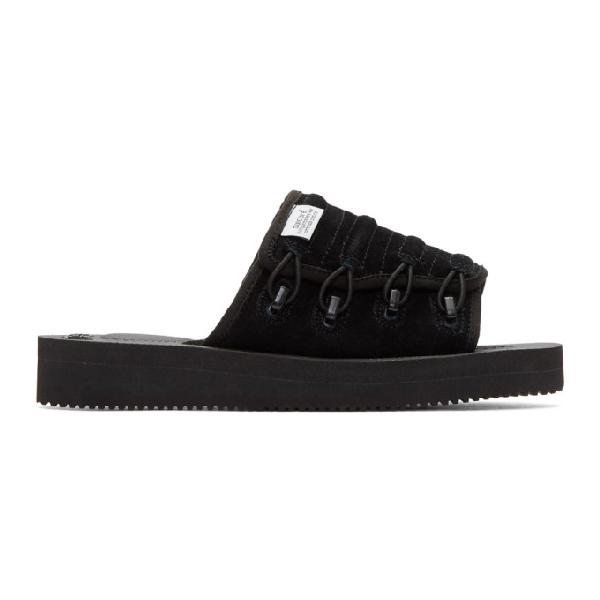 Suicoke Mura Mab Sandals In Black