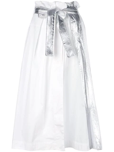 Paco Rabanne Tie Waist Long Skirt