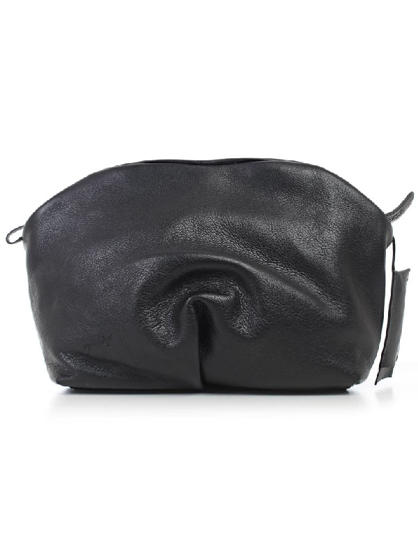MarsÈll Shoulder Bag In Nero Black