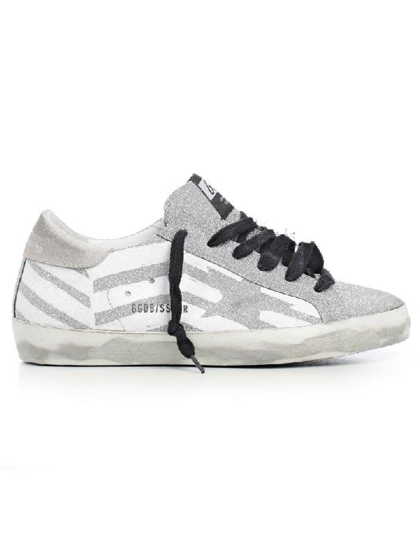 Golden Goose Superstar Sneakers In Grey