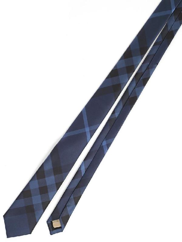Burberry Tie In Blue