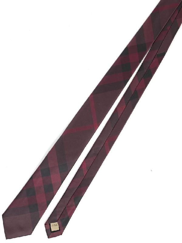 Burberry Tie In 6097b Deep Claret