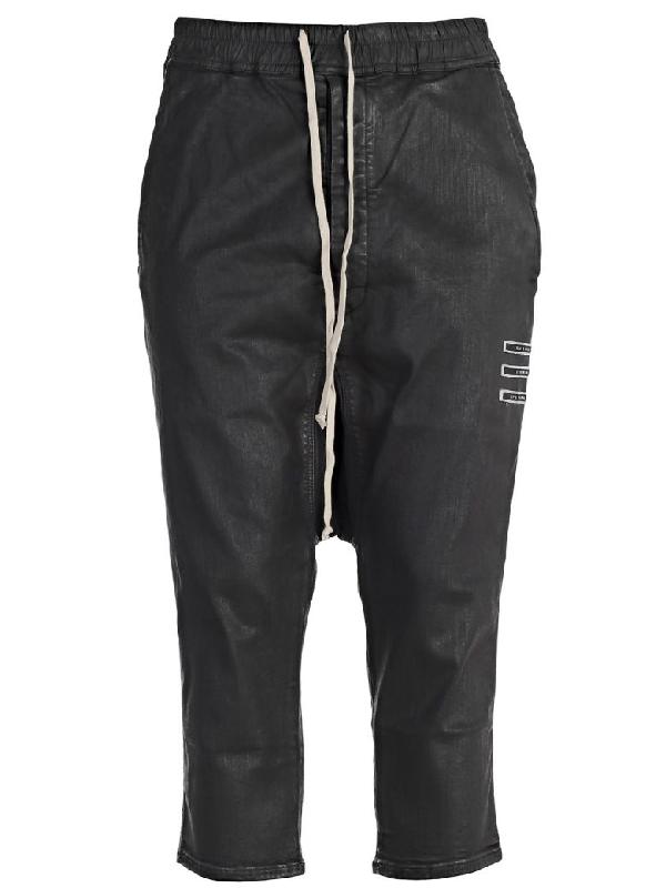 Drkshdw Trousers In Black