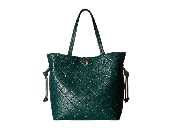 Tory Burch Georgia Slouchy Tote, Malachite