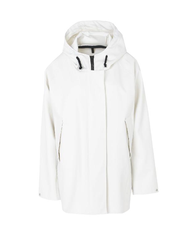 Elka Full-length Jacket In White