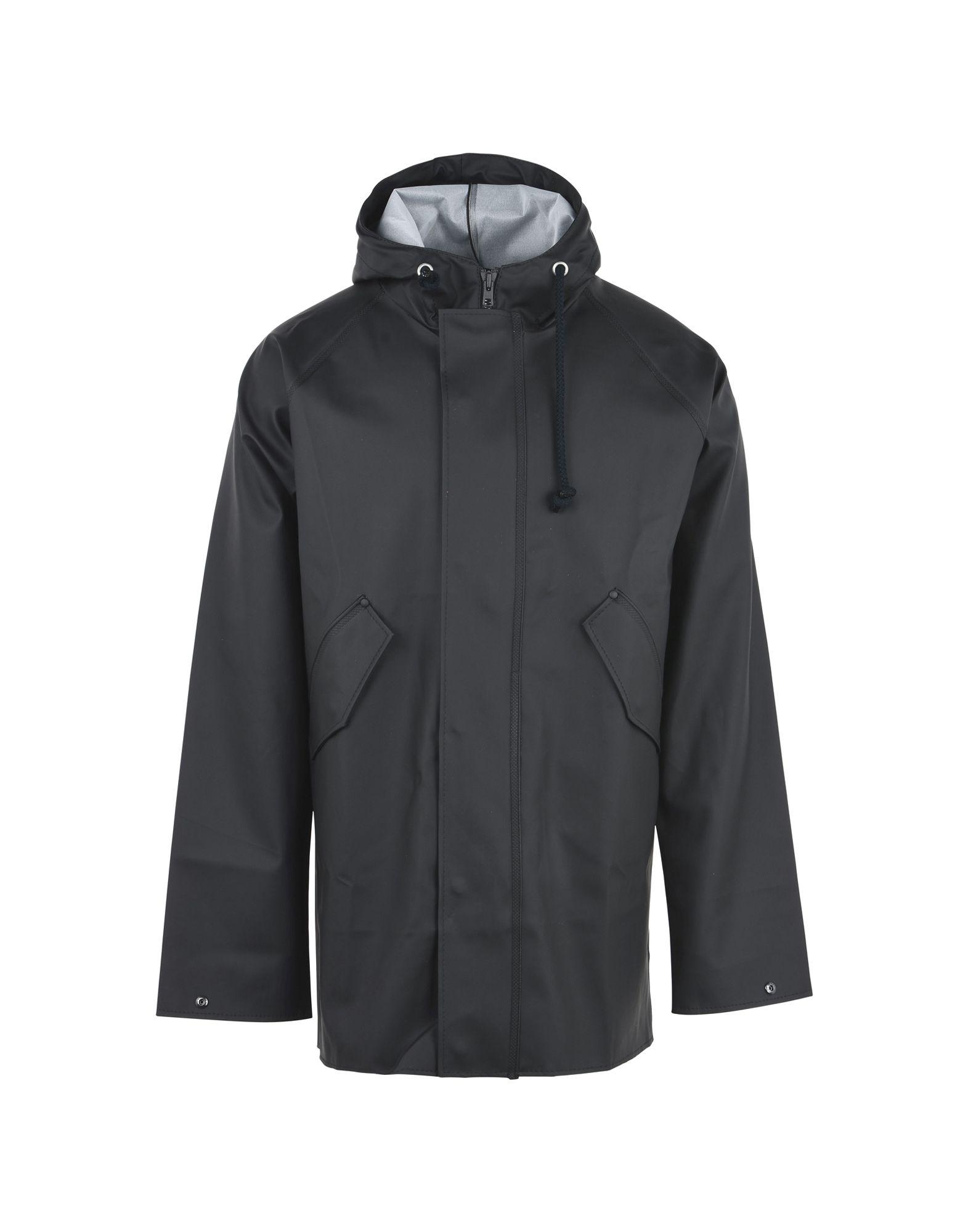 Elka Full-length Jacket In Steel Grey