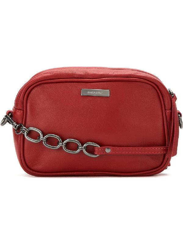 Mara Mac Chevron Shoulder Bag - Red