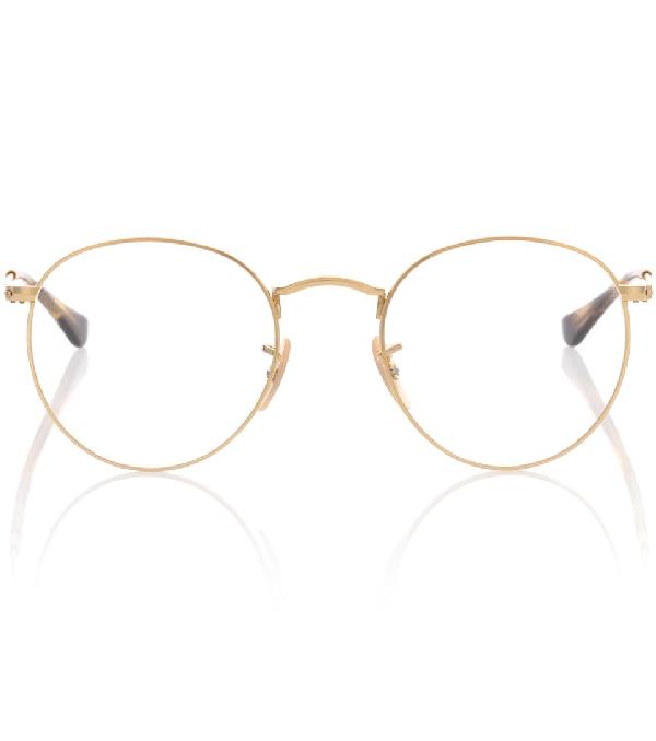 Ray Ban Round Metal Glasses