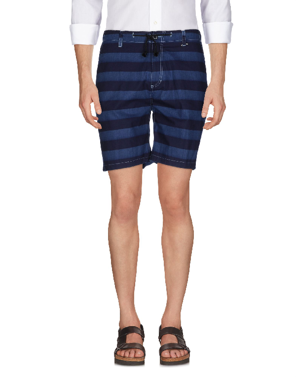 Fuct Ssdd Shorts & Bermuda In Blue