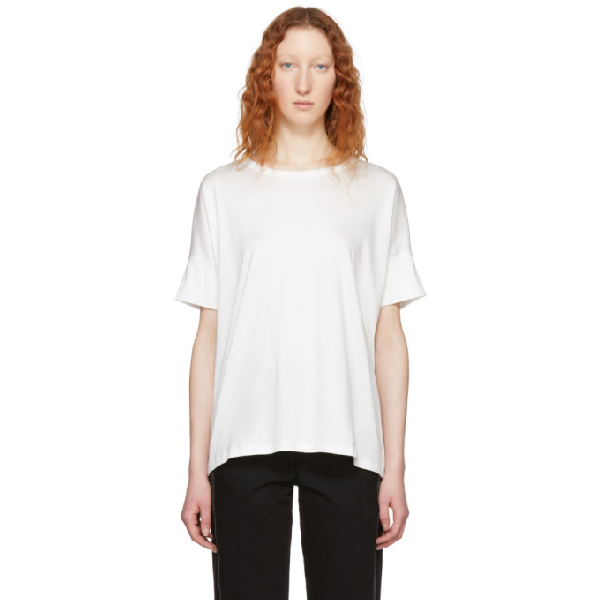 Lemaire Oversized T In 001 Chalk