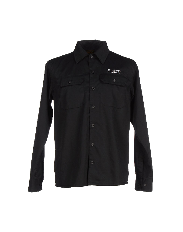 Fuct Ssdd Shirts In Black
