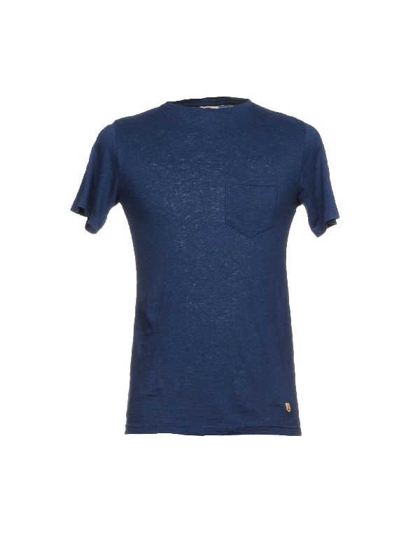Armor-lux T-shirts In Blue