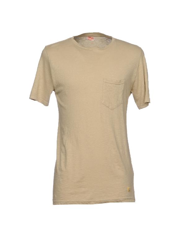 Armor-lux T-shirt In Beige