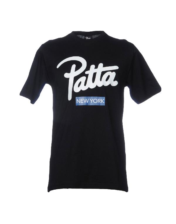 Patta T-shirt In Black
