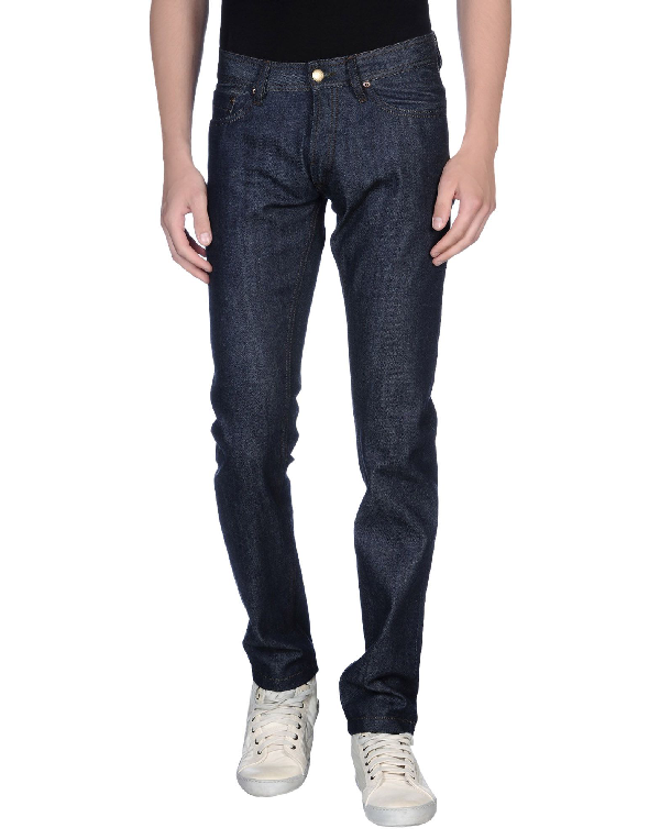 Olaf Hussein Jeans In Blue