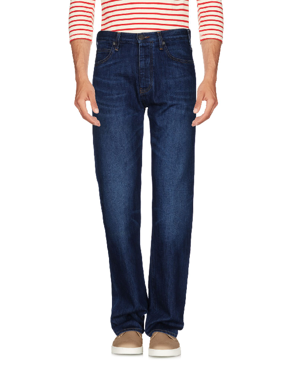 Armani Jeans Denim Pants In Blue
