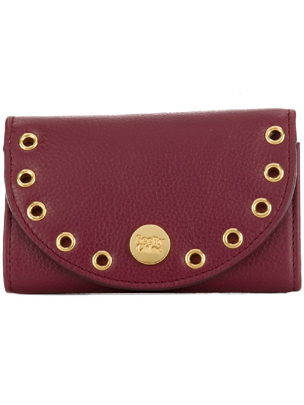 See By ChloÉ Pebbled Kriss Wallet