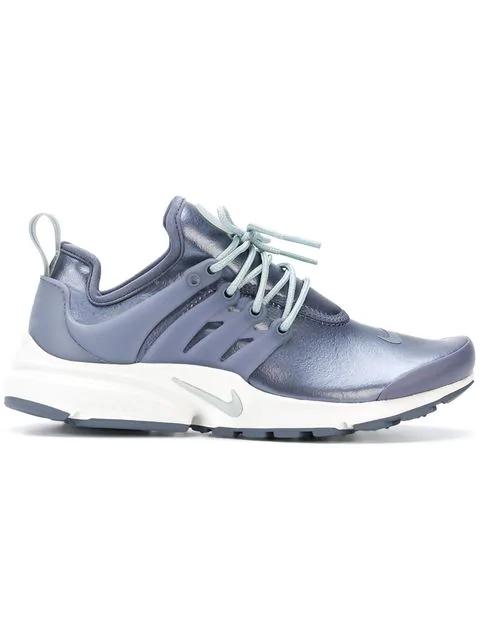 Nike Metallic Air Presto Sneakers - Grey
