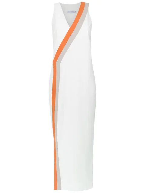 Mara Mac Straight Dress In White