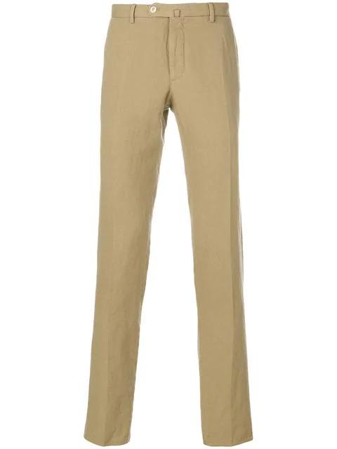 Incotex Skinny Trousers - Neutrals