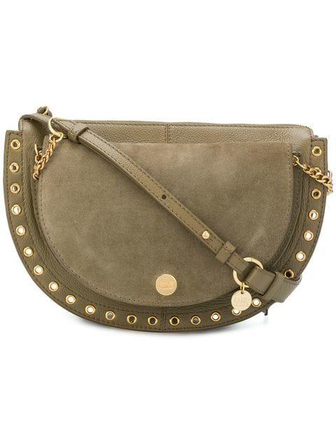 See By ChloÉ Medium Kriss Shoulder Bag In Green