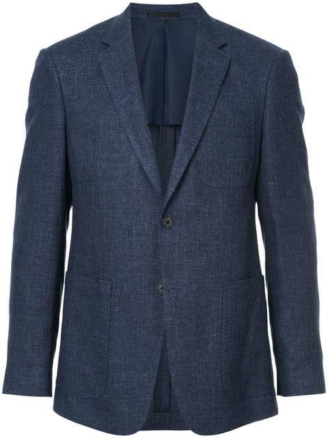 Kent & Curwen Classic Blazer In Blue