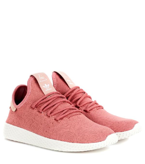 Adidas Originals X Pharrell Williams Pharrell Williams Tennis Hu Sneakers In Pink