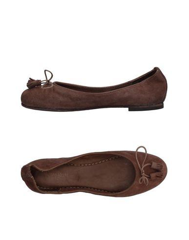 Pantofola D'oro Ballet Flats In Cocoa