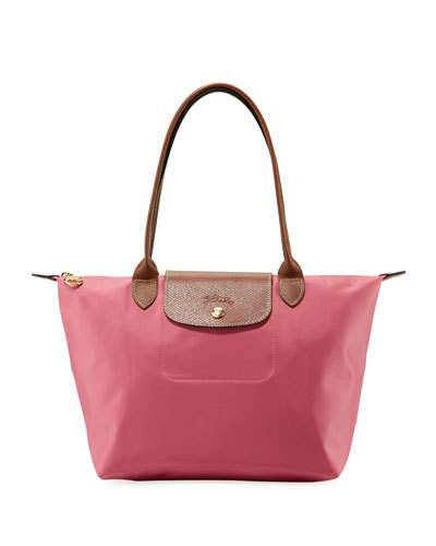 Longchamp Le Pliage Medium Shoulder Tote Bag In Medium Pink