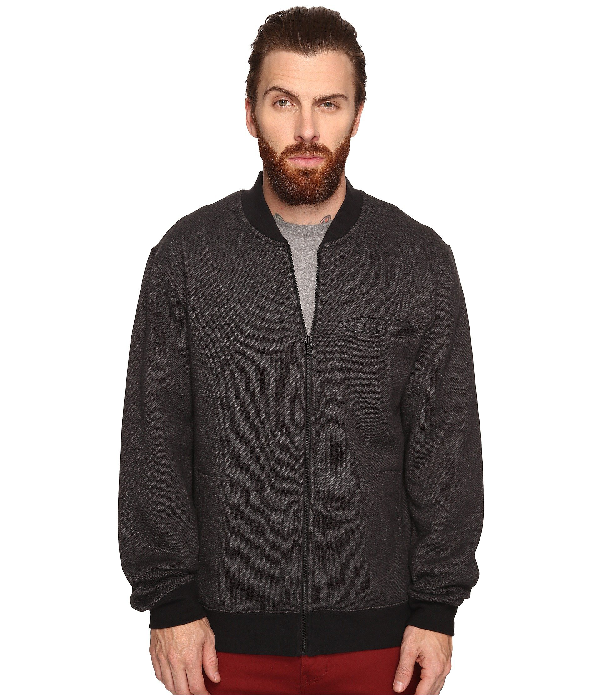 Tavik Rubicon Fleece In Heather Black